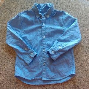 ZARA Boys Collection Long Sleeve Button Down 5